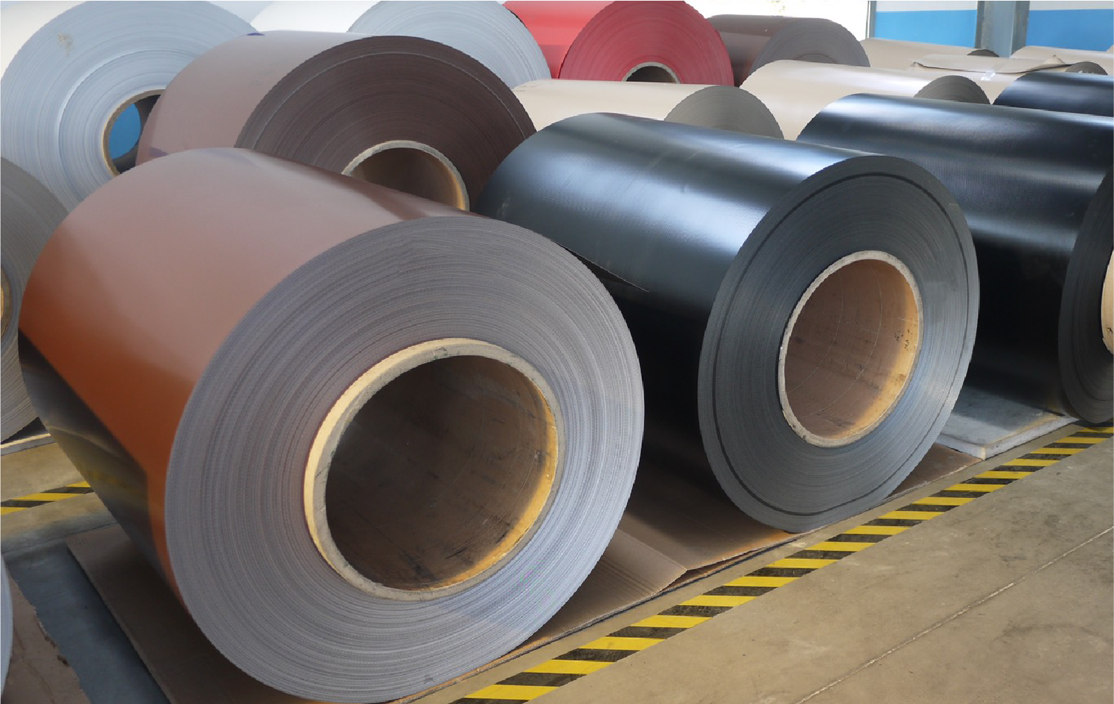 Color Coated Aluminum Coil / Sheet
