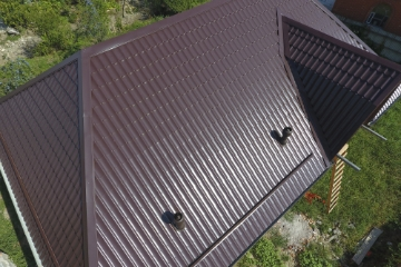 galvanized roofing